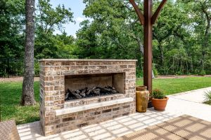 Fireplaces and Firepits #005 by Paradise Oasis Pools