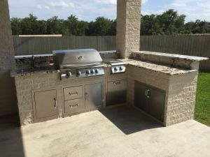 Outdoor Kitchens #001 by Paradise Oasis Pools