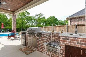 Outdoor Kitchens #003 by Paradise Oasis Pools